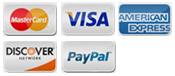 Payment Methods at Paintball Discounters